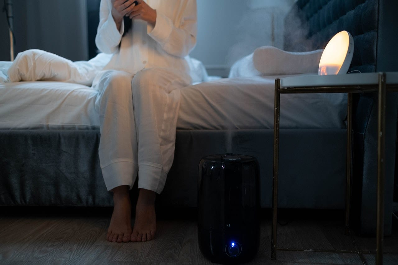 Humidifiers help you fight dry skin.